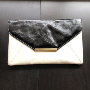 Style & Co Two Tone Envelope Clutch